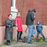 Субботник в детском саду