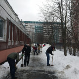 Машины для ручной уборки снега