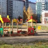 Площадки осенью